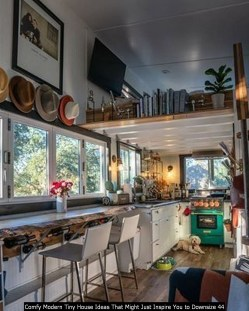 Comfy Modern Tiny House Ideas That Might Just Inspire You To Downsize 44
