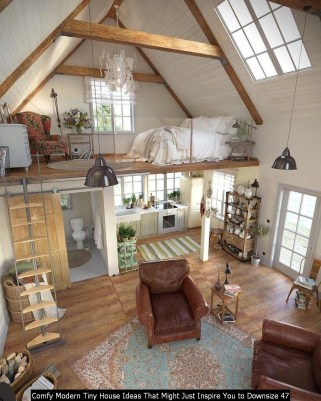 Comfy Modern Tiny House Ideas That Might Just Inspire You To Downsize 47