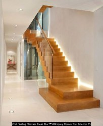 Cool Floating Staircase Ideas That Will Uniquely Elevate Your Interiors 05