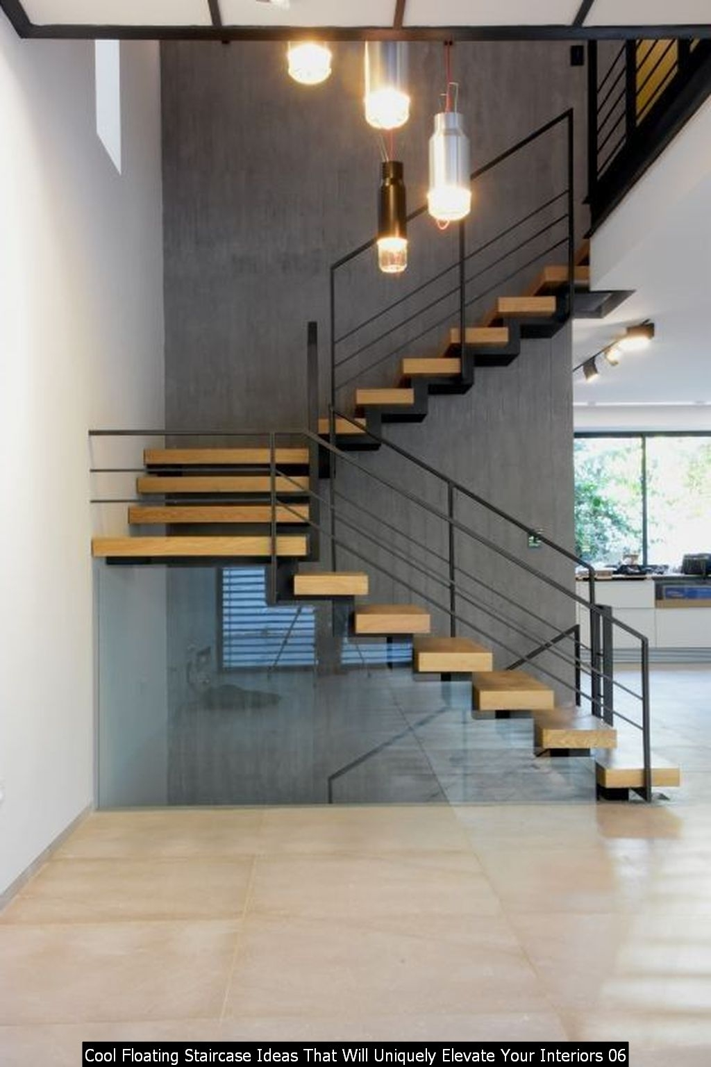 Cool Floating Staircase Ideas That Will Uniquely Elevate Your Interiors 06