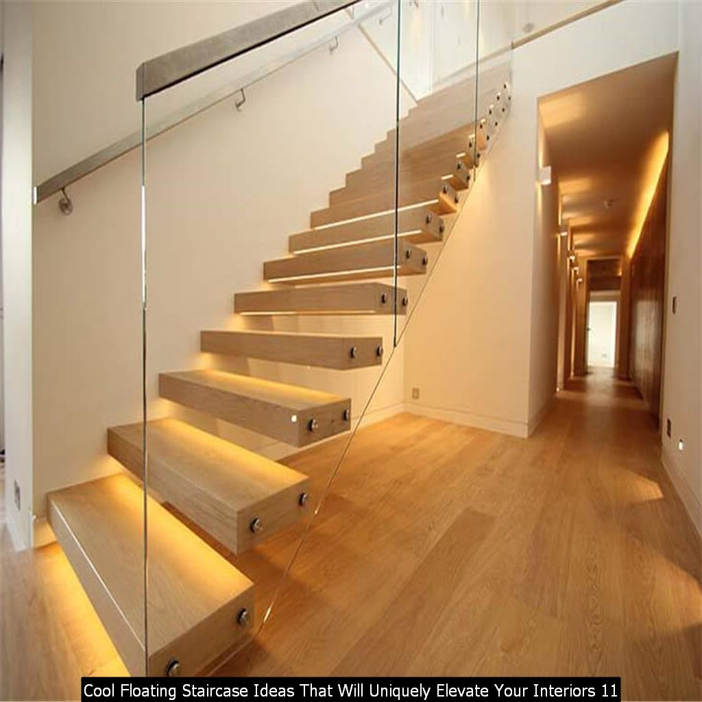 Cool Floating Staircase Ideas That Will Uniquely Elevate Your Interiors 11