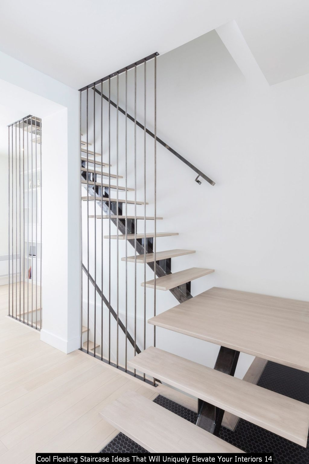 Cool Floating Staircase Ideas That Will Uniquely Elevate Your Interiors 14