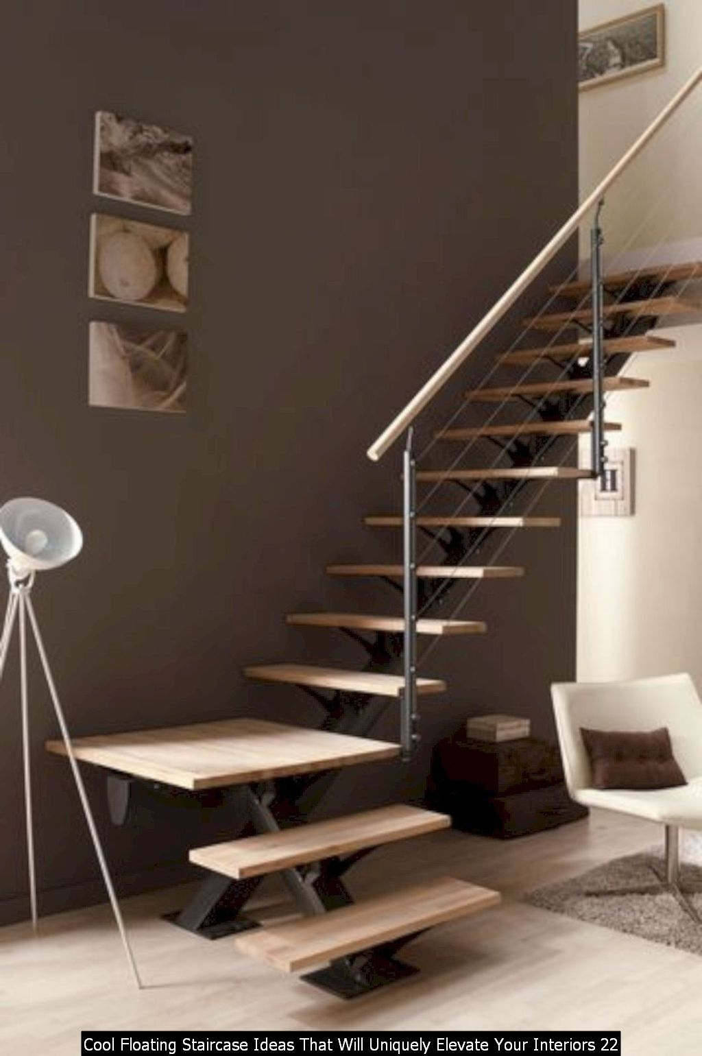 Cool Floating Staircase Ideas That Will Uniquely Elevate Your Interiors 22