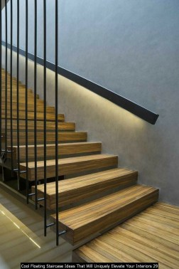 Cool Floating Staircase Ideas That Will Uniquely Elevate Your Interiors 29