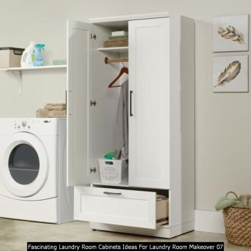 Fascinating Laundry Room Cabinets Ideas For Laundry Room Makeover 07