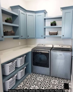 Fascinating Laundry Room Cabinets Ideas For Laundry Room Makeover 08