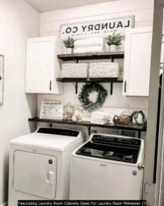 Fascinating Laundry Room Cabinets Ideas For Laundry Room Makeover 13