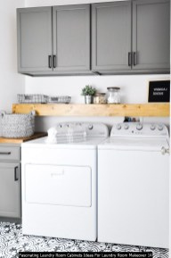 Fascinating Laundry Room Cabinets Ideas For Laundry Room Makeover 14
