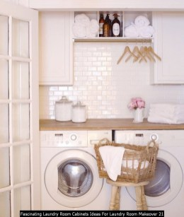Fascinating Laundry Room Cabinets Ideas For Laundry Room Makeover 21