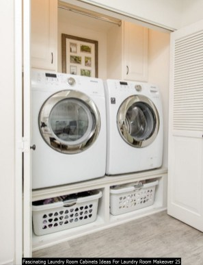 Fascinating Laundry Room Cabinets Ideas For Laundry Room Makeover 25
