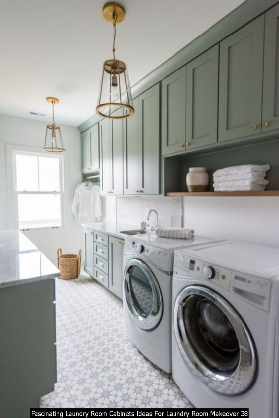 Fascinating Laundry Room Cabinets Ideas For Laundry Room Makeover 38