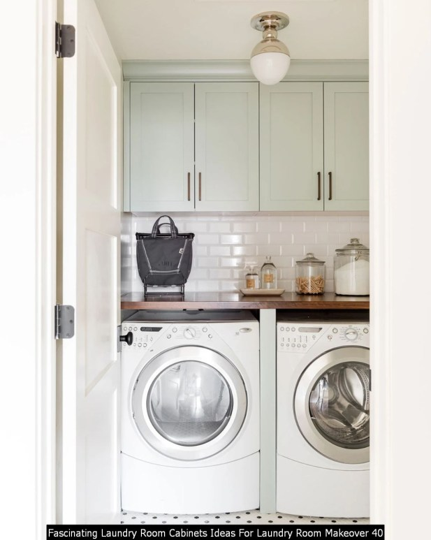 Fascinating Laundry Room Cabinets Ideas For Laundry Room Makeover 40