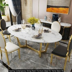 Inspiring Contemporary Dining Room Furniture Ideas For Home Decor 05