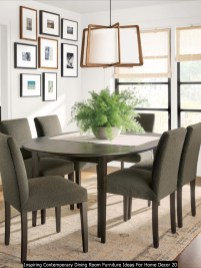 Inspiring Contemporary Dining Room Furniture Ideas For Home Decor 20