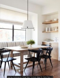 Inspiring Contemporary Dining Room Furniture Ideas For Home Decor 23