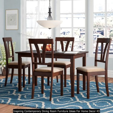 Inspiring Contemporary Dining Room Furniture Ideas For Home Decor 43
