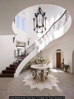 Lovely Mediterranean Home Decor To Create Your Dream Sanctuary 25
