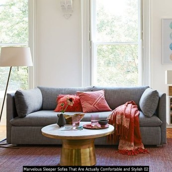 Marvelous Sleeper Sofas That Are Actually Comfortable And Stylish 02