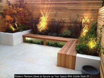 Modern Planters Ideas To Spruce Up Your Space With Subtle Style 03