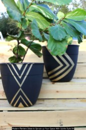 Modern Planters Ideas To Spruce Up Your Space With Subtle Style 04