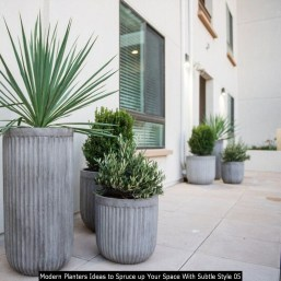 Modern Planters Ideas To Spruce Up Your Space With Subtle Style 05