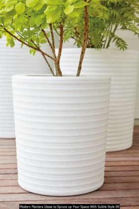 Modern Planters Ideas To Spruce Up Your Space With Subtle Style 09