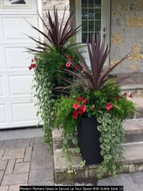 Modern Planters Ideas To Spruce Up Your Space With Subtle Style 13