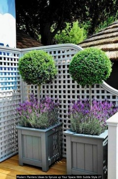 Modern Planters Ideas To Spruce Up Your Space With Subtle Style 27
