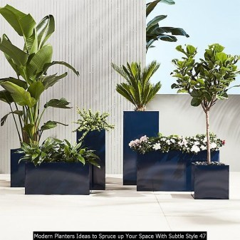 Modern Planters Ideas To Spruce Up Your Space With Subtle Style 47