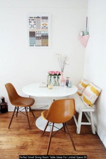 Perfect Small Dining Room Table Ideas For Limited Space 05