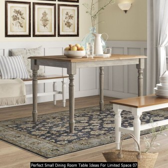 Perfect Small Dining Room Table Ideas For Limited Space 07