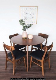 Perfect Small Dining Room Table Ideas For Limited Space 19