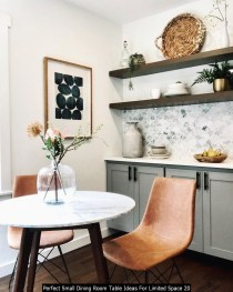 Perfect Small Dining Room Table Ideas For Limited Space 20