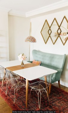 Perfect Small Dining Room Table Ideas For Limited Space 24