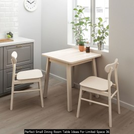Perfect Small Dining Room Table Ideas For Limited Space 36