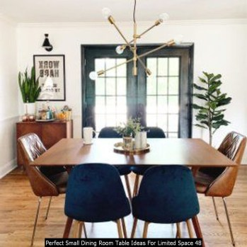 Perfect Small Dining Room Table Ideas For Limited Space 48