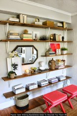 Popular Open Shelving Bookshelves Ideas To Decorate Your Room 08