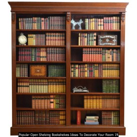 Popular Open Shelving Bookshelves Ideas To Decorate Your Room 19