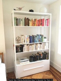 Popular Open Shelving Bookshelves Ideas To Decorate Your Room 21