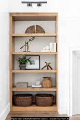 Popular Open Shelving Bookshelves Ideas To Decorate Your Room 36