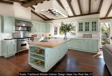 Rustic Traditional Kitchen Interior Design Ideas You Must See 17