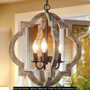 Stunning Kitchen Lighting Ideas And Tricks For Old Homeowners 22