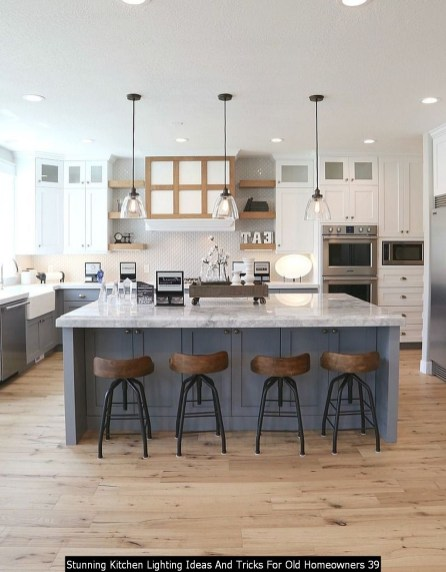 Stunning Kitchen Lighting Ideas And Tricks For Old Homeowners 39