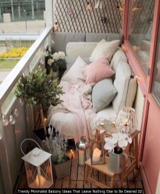 Trendy Minimalist Balcony Ideas That Leave Nothing Else To Be Desired 02