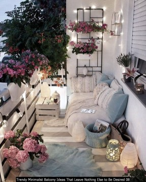 Trendy Minimalist Balcony Ideas That Leave Nothing Else To Be Desired 08
