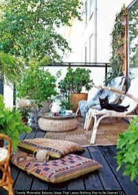 Trendy Minimalist Balcony Ideas That Leave Nothing Else To Be Desired 12
