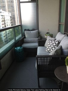 Trendy Minimalist Balcony Ideas That Leave Nothing Else To Be Desired 22