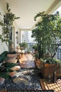 Trendy Minimalist Balcony Ideas That Leave Nothing Else To Be Desired 33