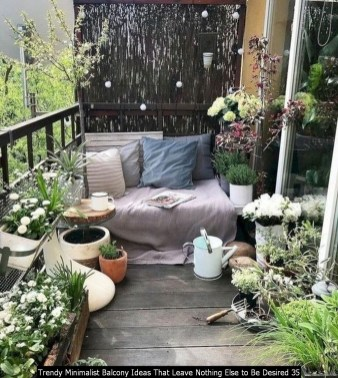 Trendy Minimalist Balcony Ideas That Leave Nothing Else To Be Desired 35