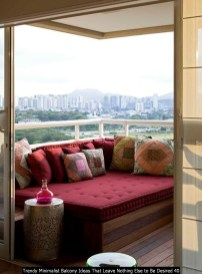 Trendy Minimalist Balcony Ideas That Leave Nothing Else To Be Desired 40